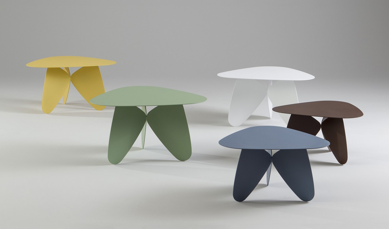 'Play' tables by Helene Teidemann for Swedish company  Jonas Ihreborn.