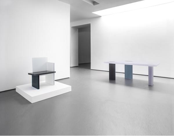 Wonmin Park's solo show at the Carpenters Workshop Gallery exhibition, Paris, 2015. Photo: Adrien Millot.