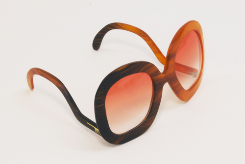 Studio Swine sunglasses made from human hair and bio-resin. The 2011 project led to Studio Swine's  Hair Highway  project in 2014.