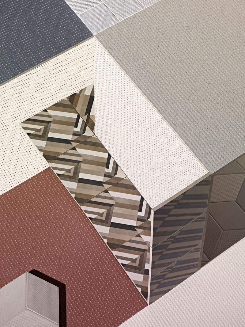 A Scheltens Abbenes composition and photograph for Mutina, 2015.