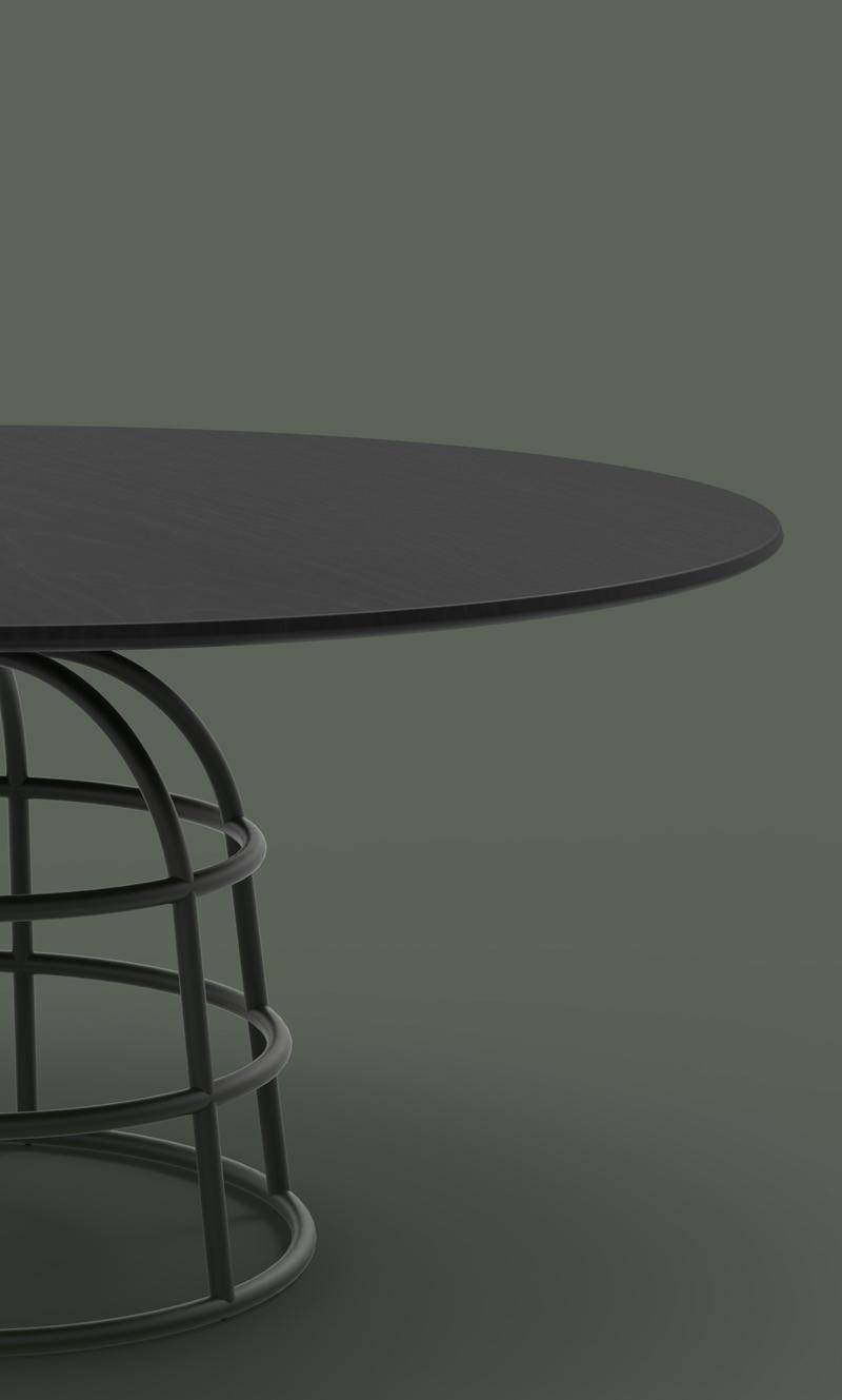 Alain Gilles 'Mass' table for Bonaldo.