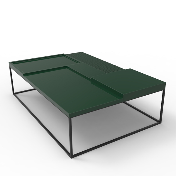 'Terrace' coffee table by Sebastian Herkner for Linteloo.
