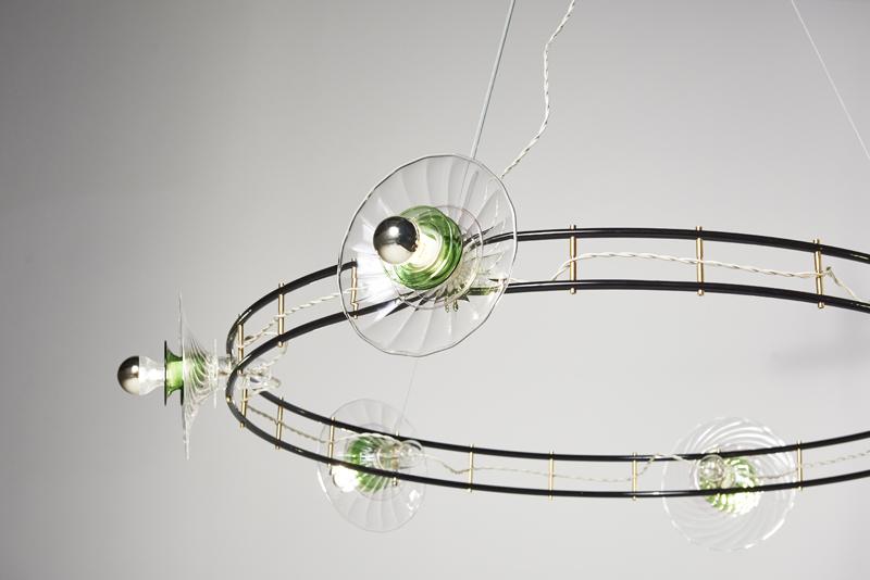 Bethan Laura Wood's 'CrissCross Hula' light.