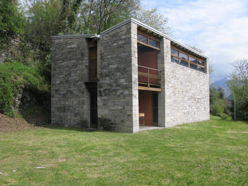 Pietro Lingeri's artist house 2 on Isola Comacina on Lake Como.
