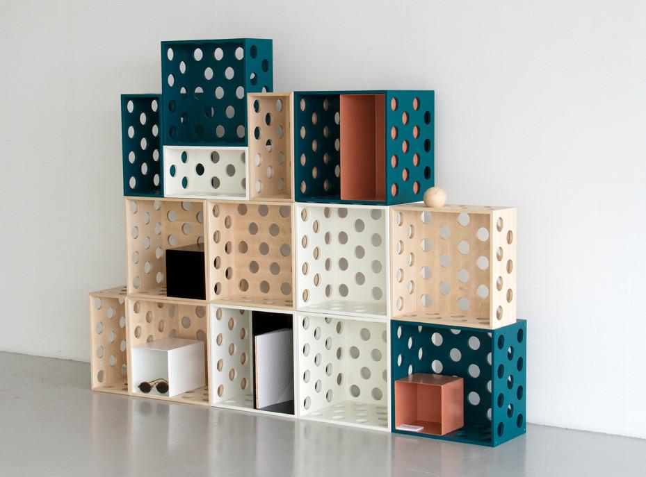 'Holes' storage by Erik Olovsson / Studio E.O.