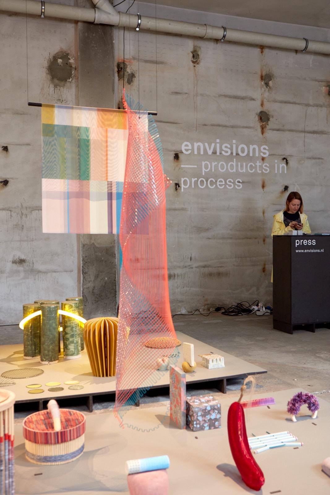 Envision -  Products in Process  installation at Ventura Lambrate, Milan 2016. Photo: Ronald Smits.