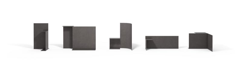The 'Prop' tables by Konstantin Grcic for Cassina.