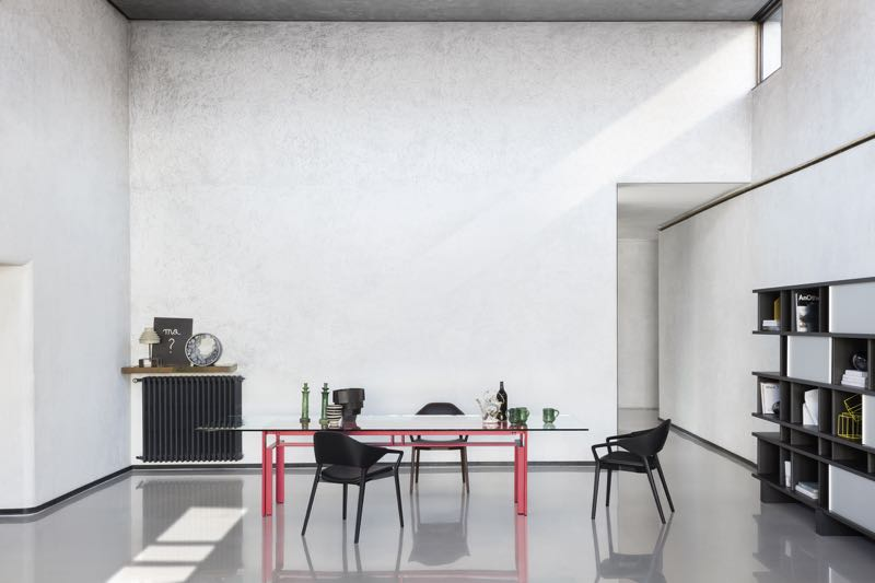 A wonderful shot featuring the new 'Ico' chair by Ora Ito for Cassina.