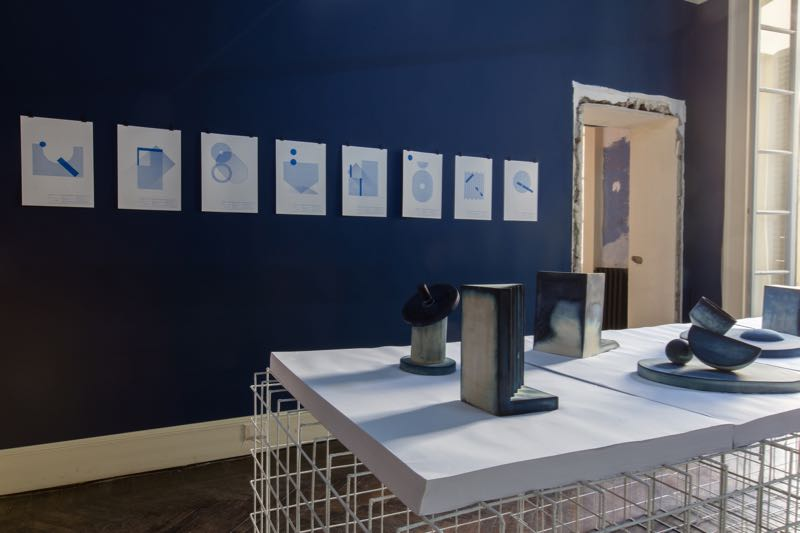 Studiopepe's 'Out of the Blue' exhibition at Ladies & Gentleman in the 5vie district.