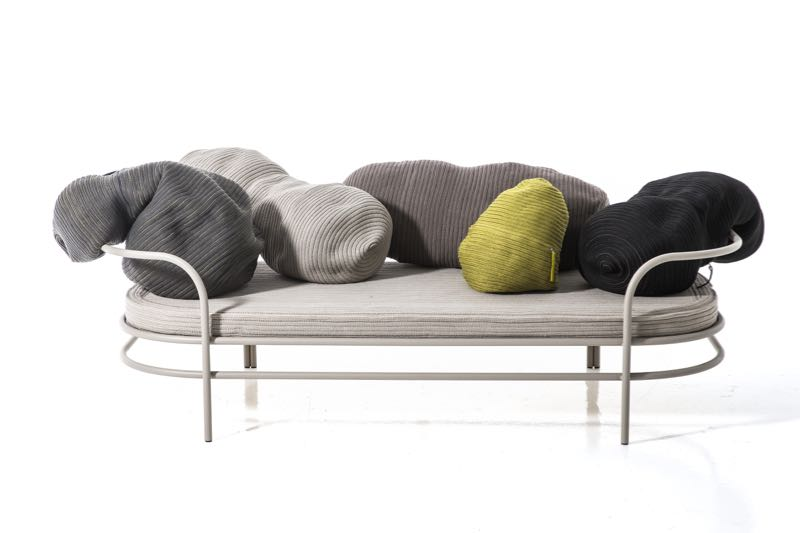 The 'Triclinium' sofa by Front for Moroso - a sofa based on Roman habits.