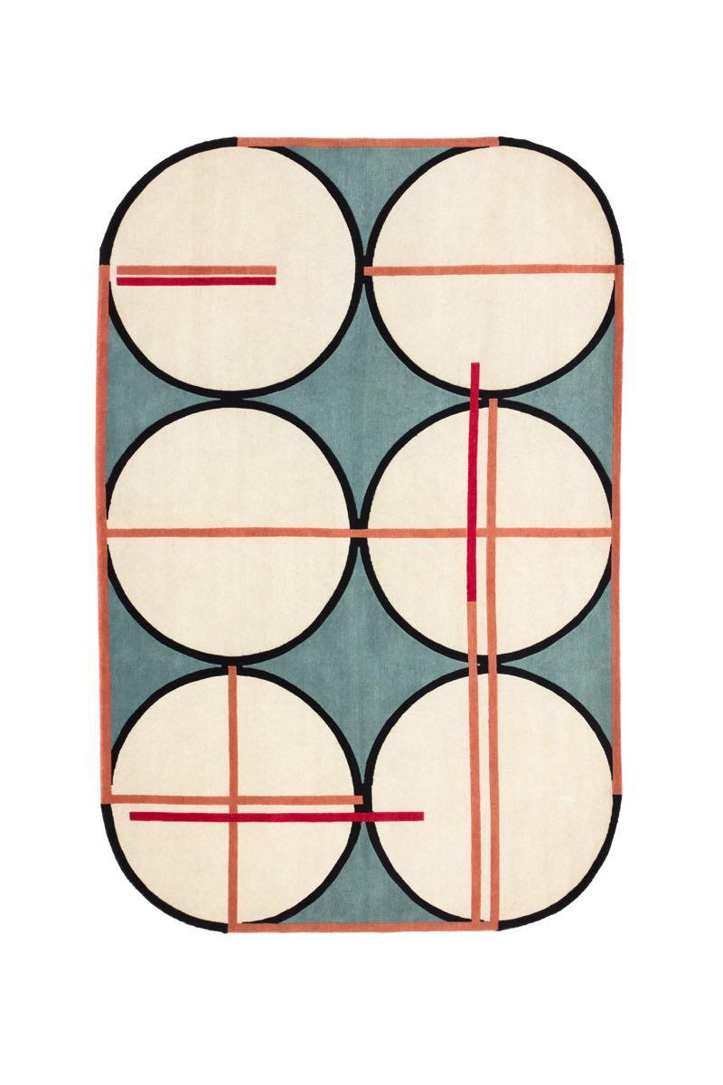 Patricia Urquiola and Federico Pepe's 'Credenza' rug for Spazio Pontaccio and cc-tapis.