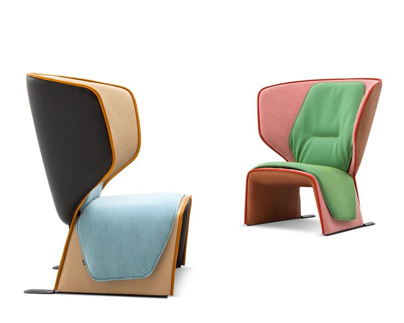 Urquiola's 'Gender' chair for Cassina. Sort of ugly, sort of great.