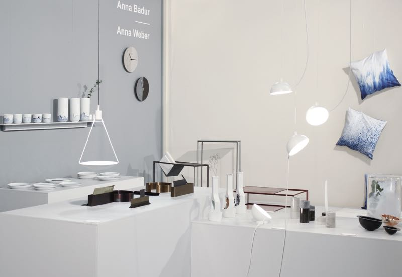 The Halle Berlin stand at Salone Satellite.