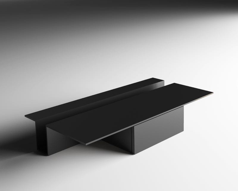 The 'Grek' table by Oscar & Gabriele for Living Divani - brutal but ever-so beautiful.