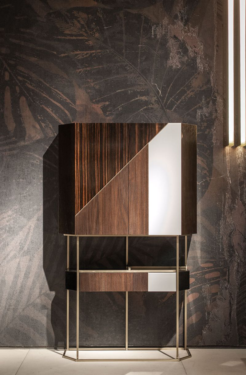 The 'Wireframe' bar cabinet by Draga & Aurel from Baxter.
