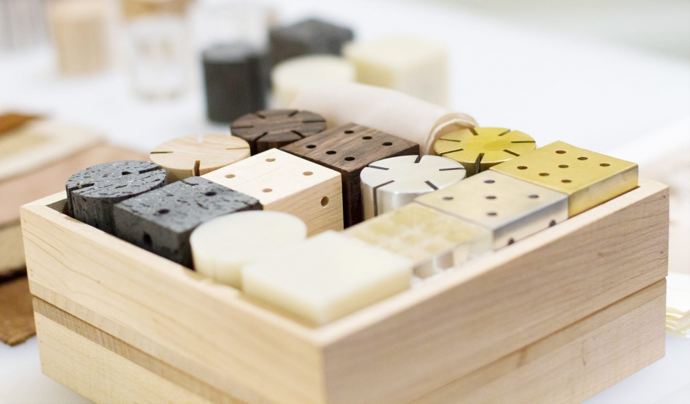 Myungsik Jang's 'Dada' building blocks for children.