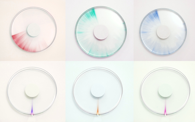 Sketches for the 'Trace' clock by Studio Ayaskan.