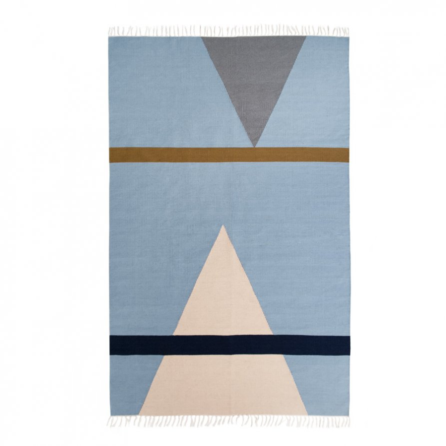 'Lightly Fort 3' rug by Cindy Lee Davies for Lightly. 200 x 300 cm.