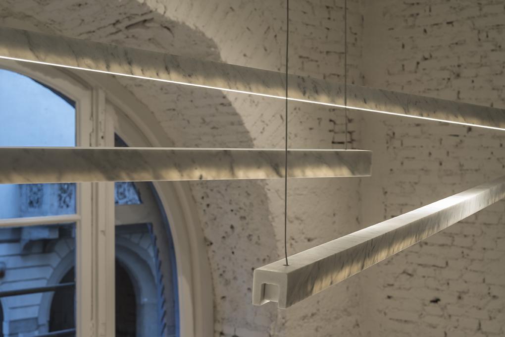 'Farfalla'pendant lights by Marco Carini for Salvatori.