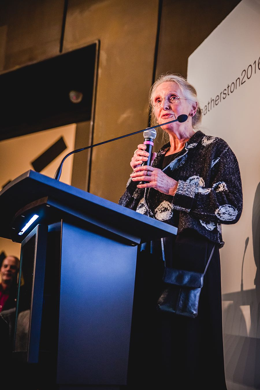 Mary Featherston at the Featherston 2016 launch.
