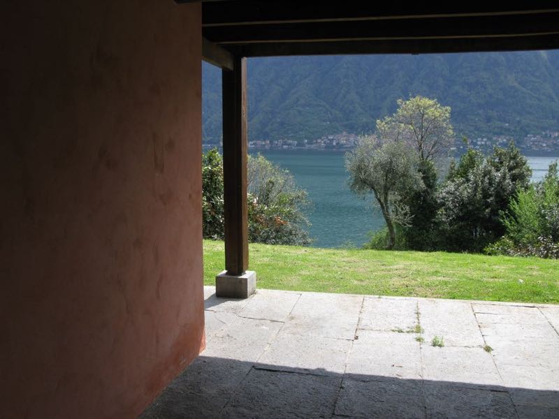 The view from the terrace of House C.