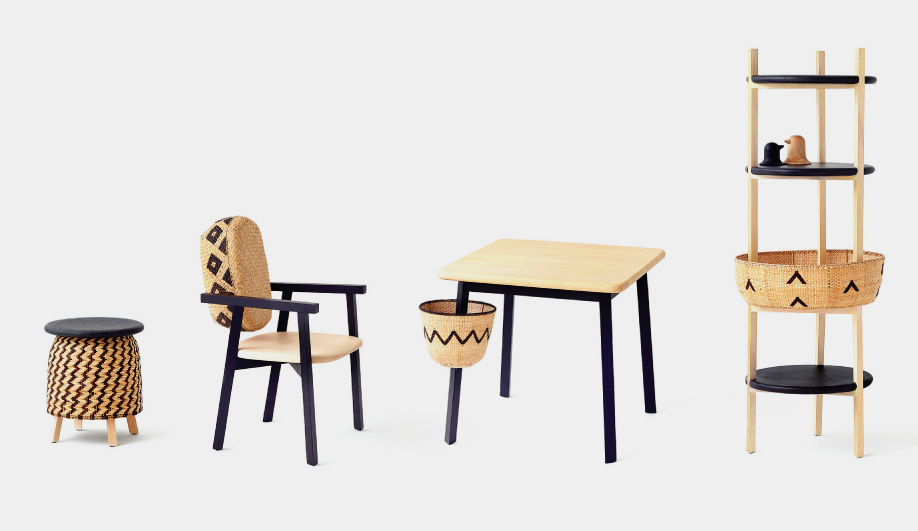 The 'Tokyo Tribal' collection by Nendo for Industry+. African look, Japanese designer, Filipino manufacture.            Photo:Akihito Yoshida.