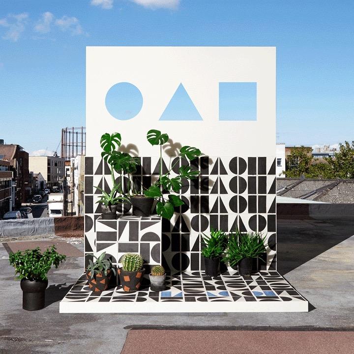 Bert & Mays installation in collaboration with design retailer Darkroom.