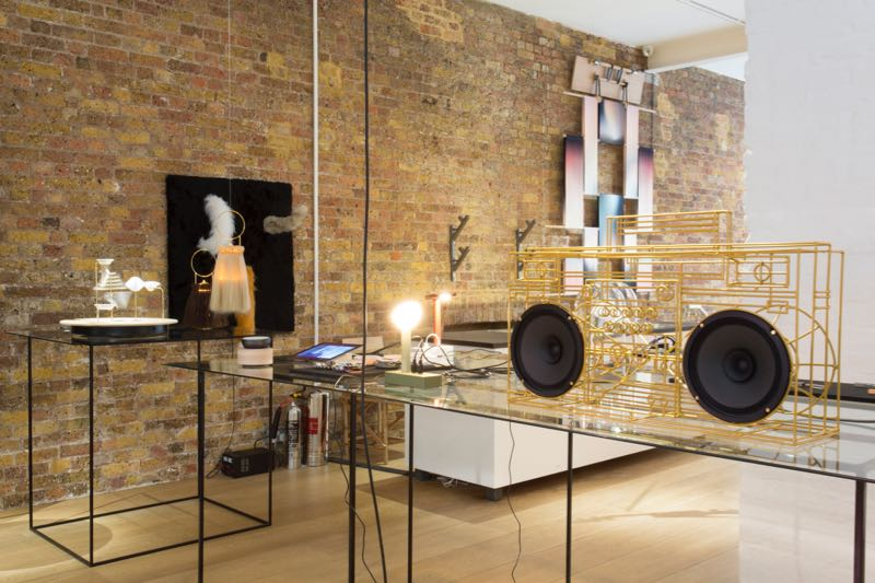 The electro craft exhibition at Charlotte Road in Shoreditch curated by Tord Boontje.