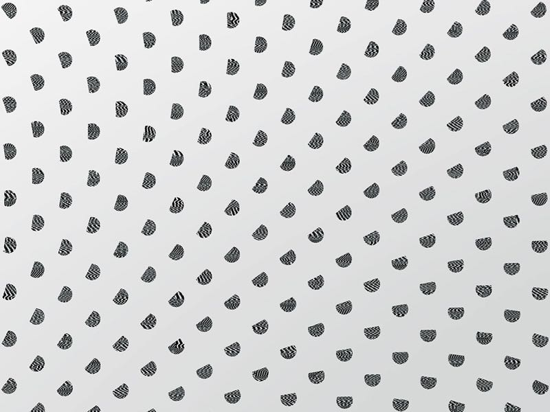 A close-up of Studio Truly Truly's 'Particles' wallpaper (as seen at the start of this post) was shown as part of Dutch wallpaper brand NLXL's installation at Salone del Mobile in Milan in 2015.