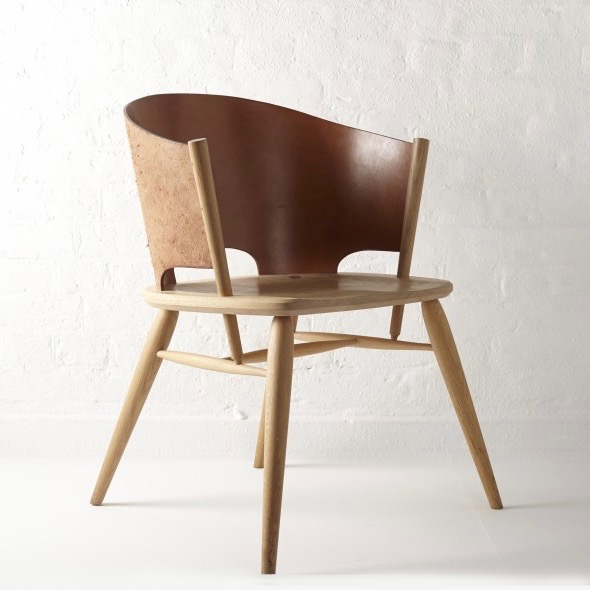The Hamylin chair - a Gareth Neal and Kevin Gauld collaboration for The New Craftsmen.