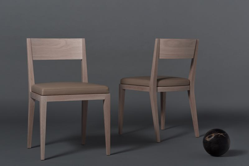 M-chair in lime washed oak. Photograph by Kelly Geddes.