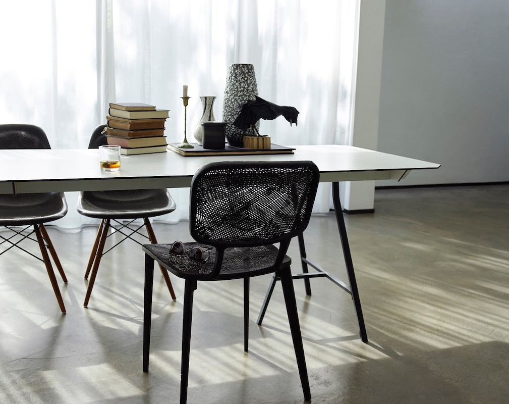 Marleen Kaptein's 'Recycled Carbon Chair'for LABEL/BREED.