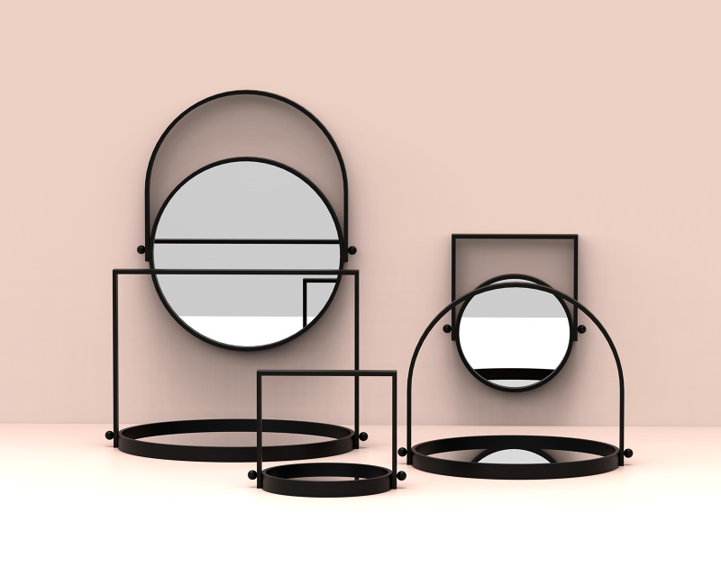Elina Ulvio's 'Lampi' showing their dual purpose functionality.