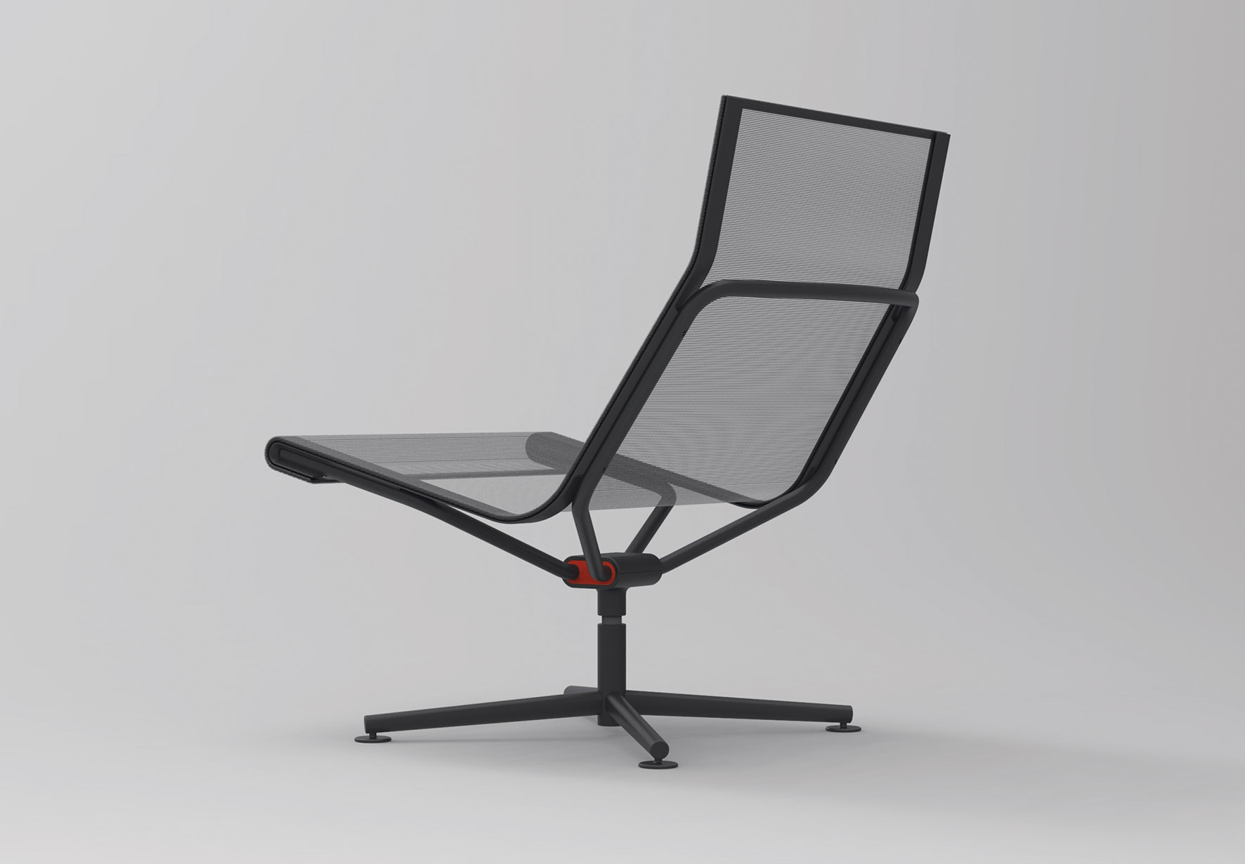 The lounge chair variant of Stefan Diez's 'Dondolo D2' for Wagner. Extraordinary simplicity.