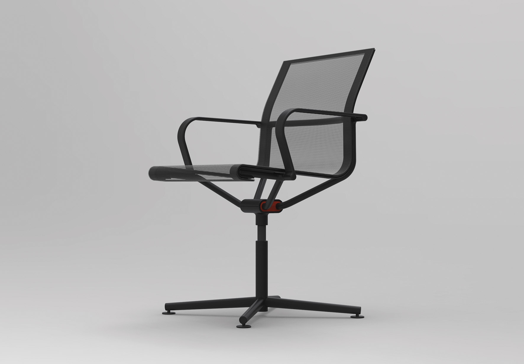 Stefan Diez's 'Dondolo D2' task chair - a stripped back racing model sans all the bulbous bits.