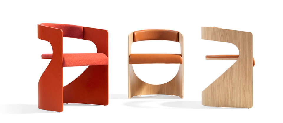 The 'Lucky' chair by Luka Stepan for Blä Station.