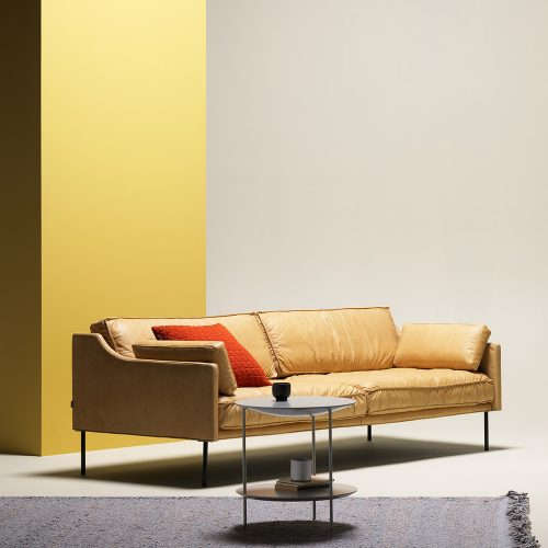 Andres Engelvik's timeless 'Dini' sofa for Fogia - soft leather and a low profile.