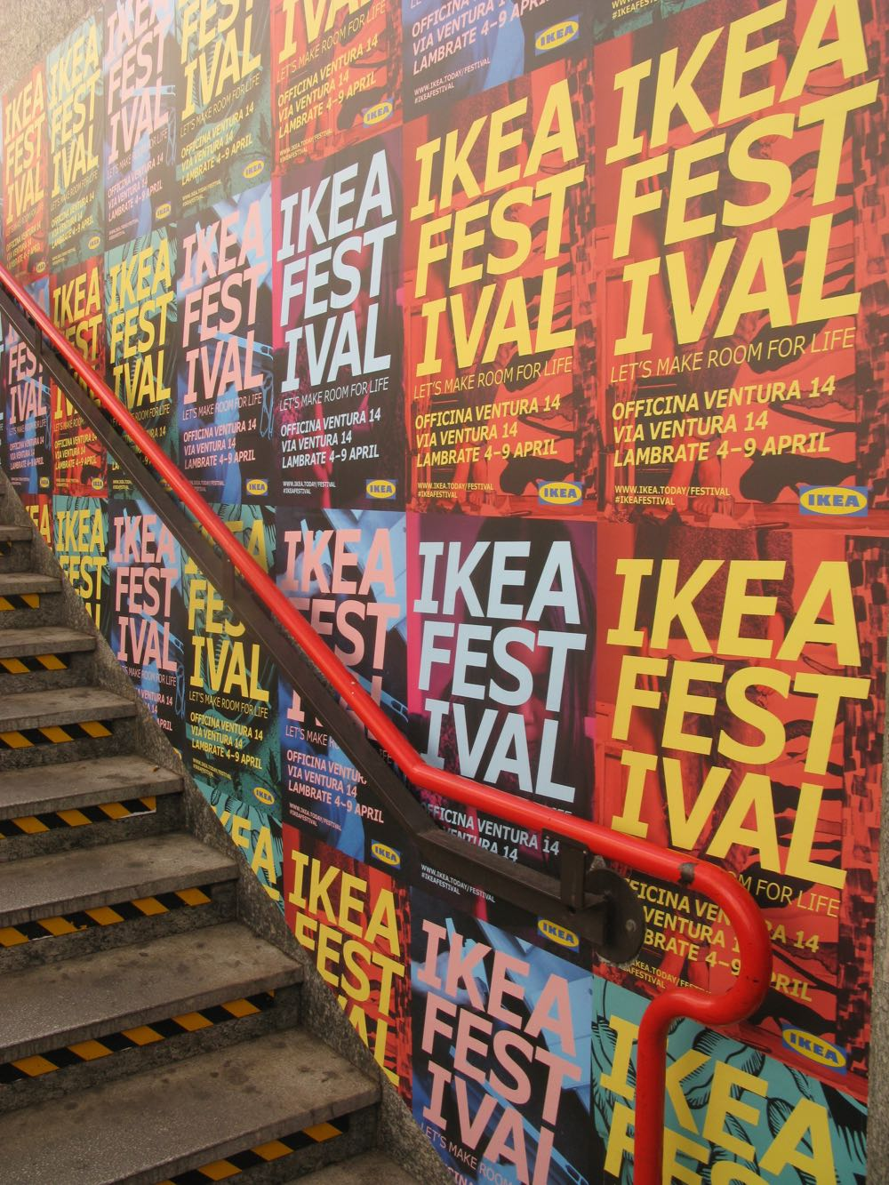 "Advertising for the Ikea ""Festival"". A case of a promotional juggernaut promising much more than the event delivered."