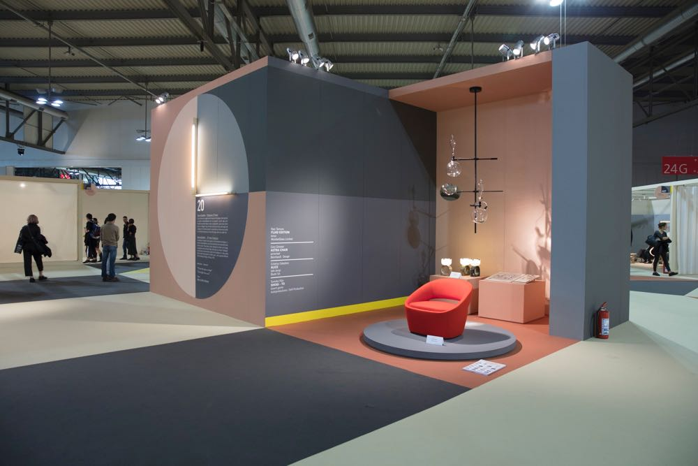 One of the areas exhibiting a selection of products that have gone into production by designers who have participated in Salone Satellite over the last 20 years. Photograph by Craig Wall.