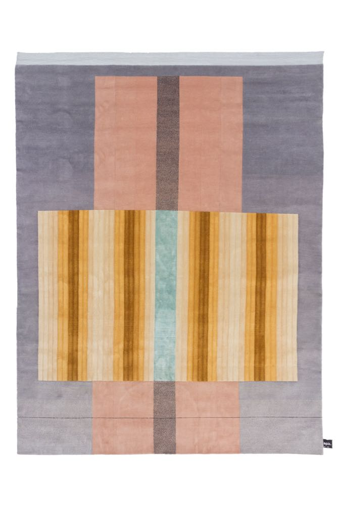 'Bliss' rug (yellow) by Mae Engelgeer for cc-tapis.