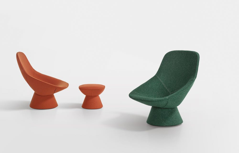 The 'Pala' chair by Luca NIchetto for  Artifort.