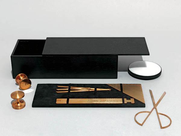 'Geometry Set' by Michaël Verheyden for Wallpaper Handmade 2011.