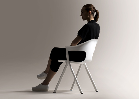 Benjamin Hubert and LAYER's 'AXYL' chair for Allermuir.