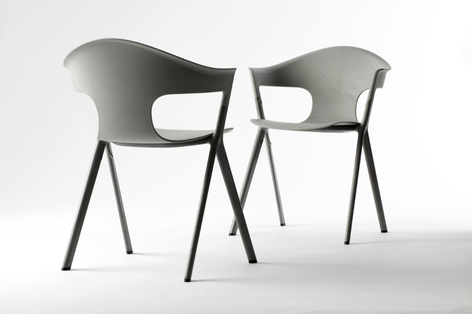 Benjamin Hubert and LAYERS' new 'AXYL' chair for Allermuir.