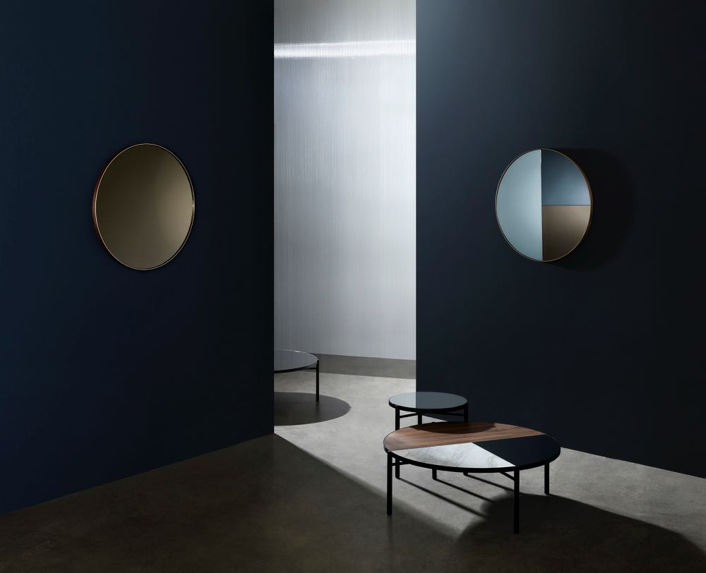 Ross Gardam's new collection 'Noon'will debut at Design-Made - mirrors, coffee and side tables. Photographs by Hayden Cattach.