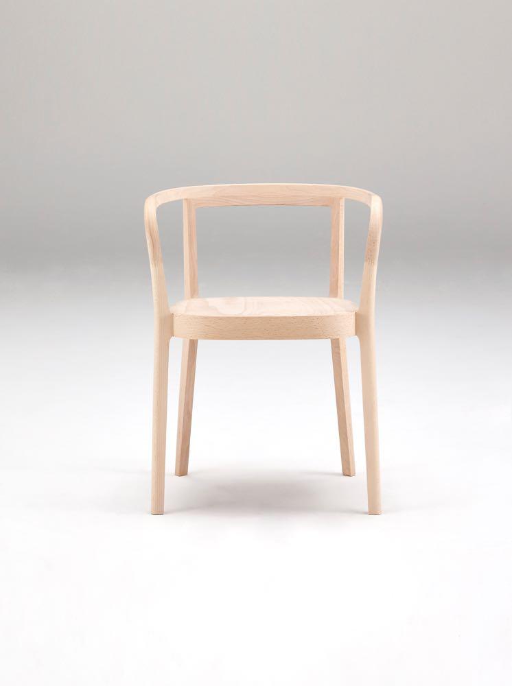 'Moku' chair by Cecilie Manz for Nissin Mokkou, Japan.