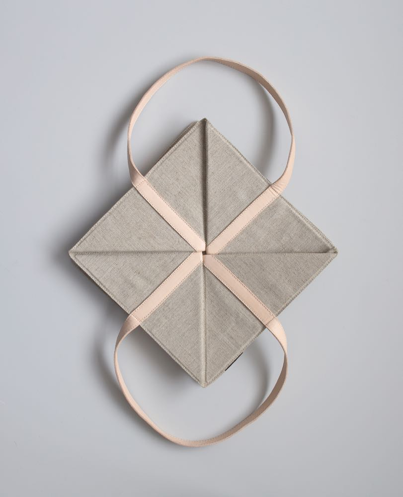 Origami basket by Cecilie Manz for Fritz Hansen Object.