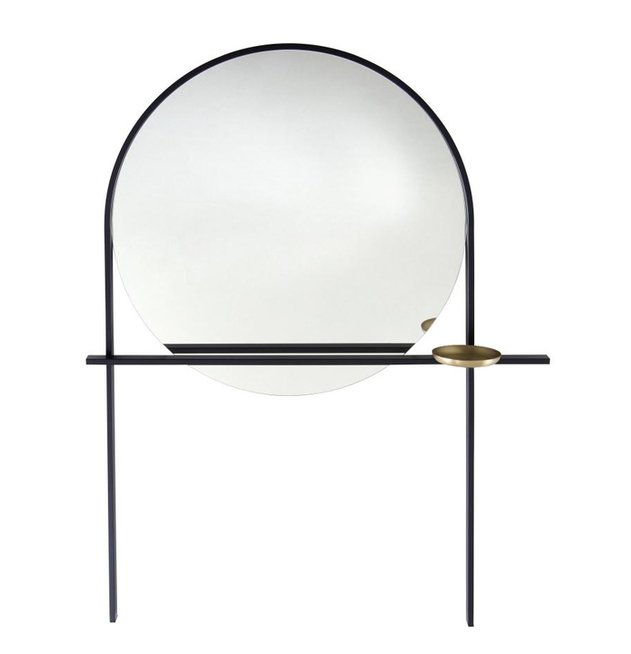 Alain Gilles' 'Geoffrey' mirror for Ligne Roset.
