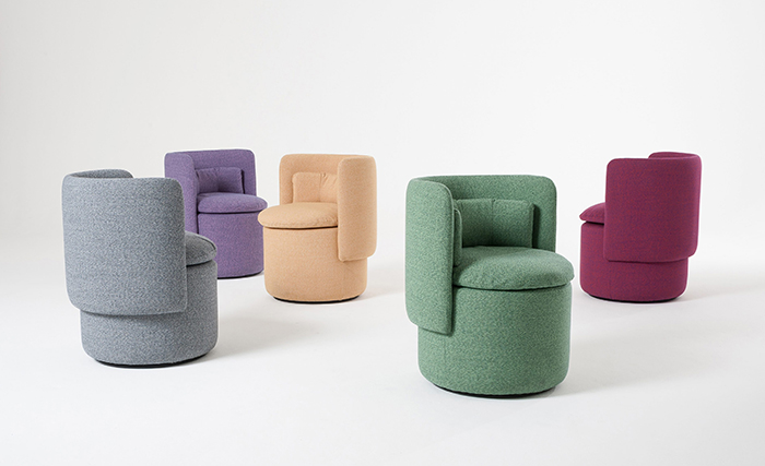 The 'Group' armchair by Philippe Malouin for SCP.
