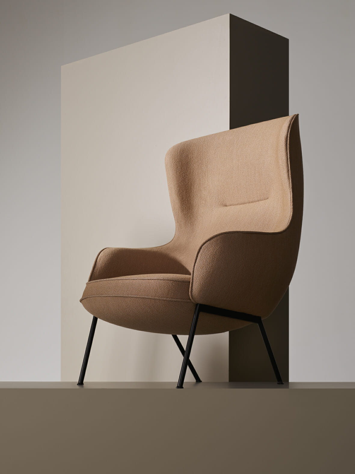 Luca Nichetto's 'Mame' armchair for Fogia.